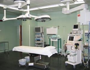 quirofanos clinica estetica valencia Dr. Terrén